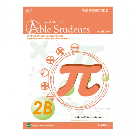 Original Maths for Able Students 2B