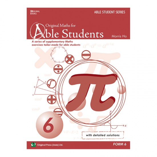 Original Maths for Able Students 6