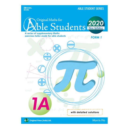 Original Maths For Able Students 1A (2020)