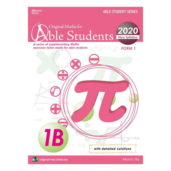 Original Maths For Able Students 1B (2020)