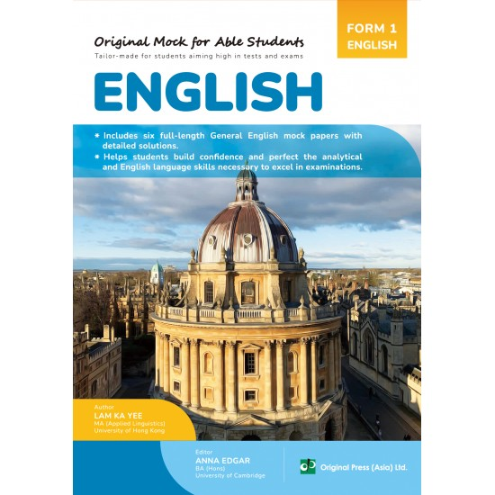 Original Mock for Able Students-English F1
