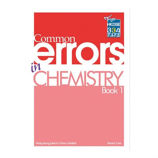 Common Errors in Chemistry - Book 1