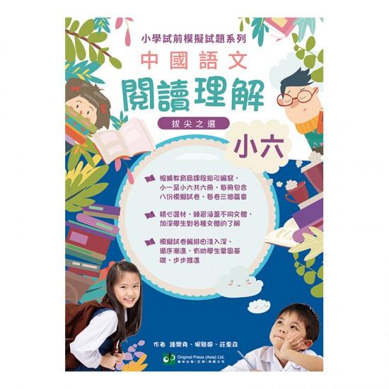 小學試前模擬試題系列-中國語文閱讀理解-小六